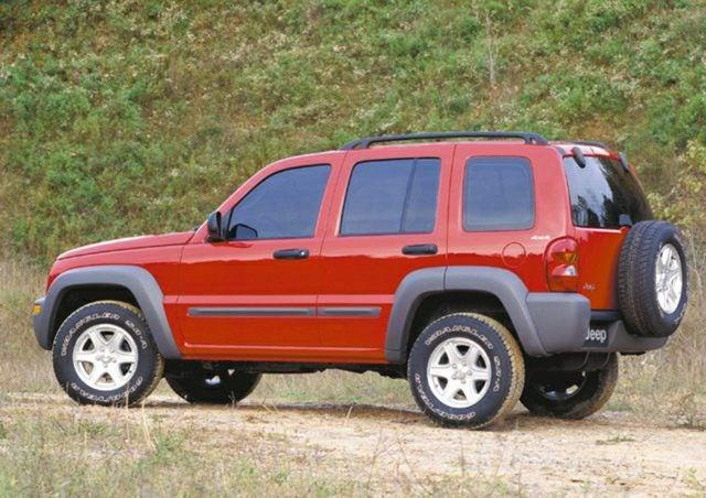 2002 jeep liberty sport tire size