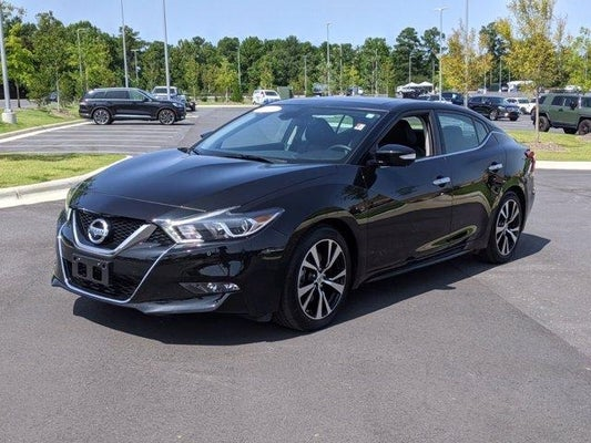 Used 2018 Nissan Maxima Pinehurst Fayetteville Nc 1n4aa6ap2jc363356
